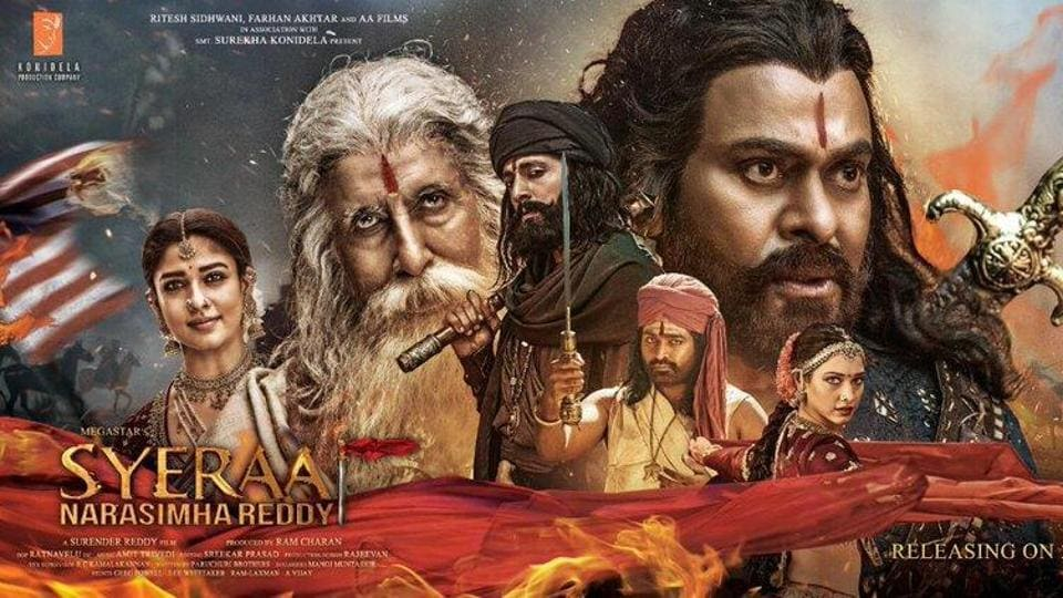 Image result for sye raa narasimha reddy poster