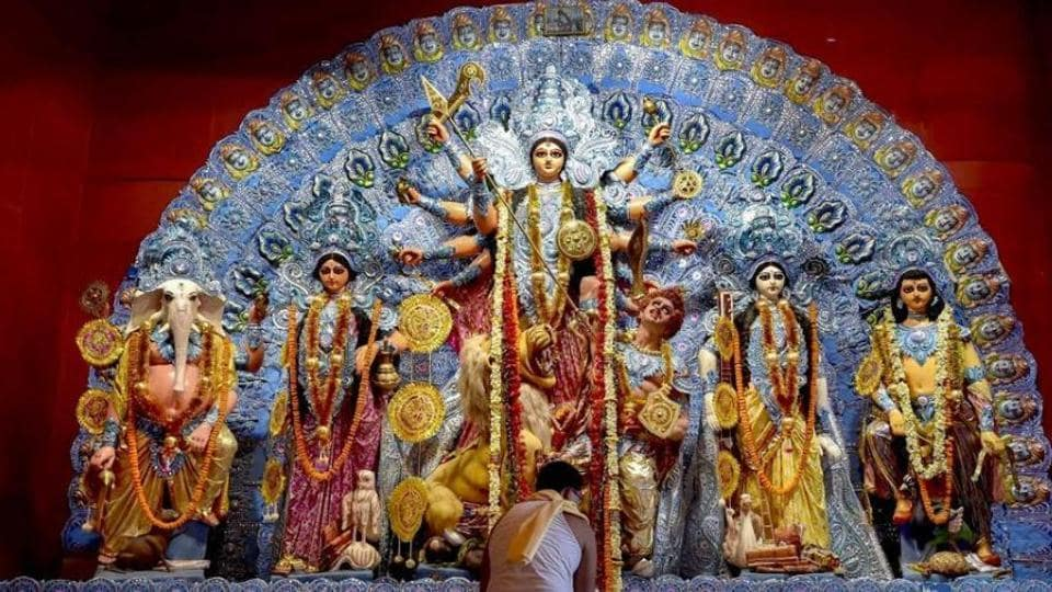 Navratri 2019: Lord Brahma, Lord Vishnu and Lord Shiva together created Goddess Durga.