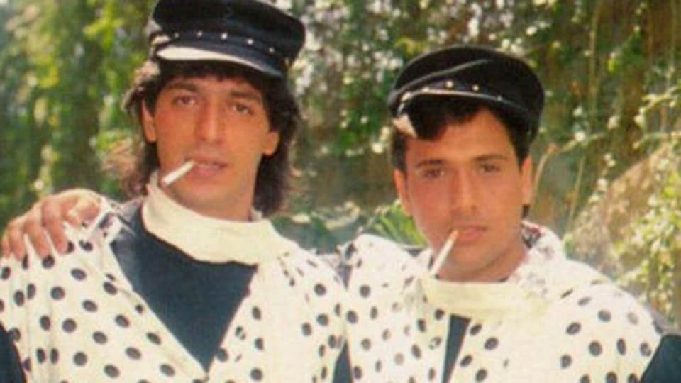 Chunky Pandey and Govinda most famously appeared together in Aankhen.