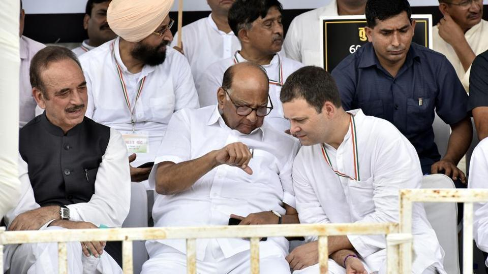 Congress and Nationalist Congress Party (NCP) on Tuesday began talks for the Assembly polls with smaller allies.