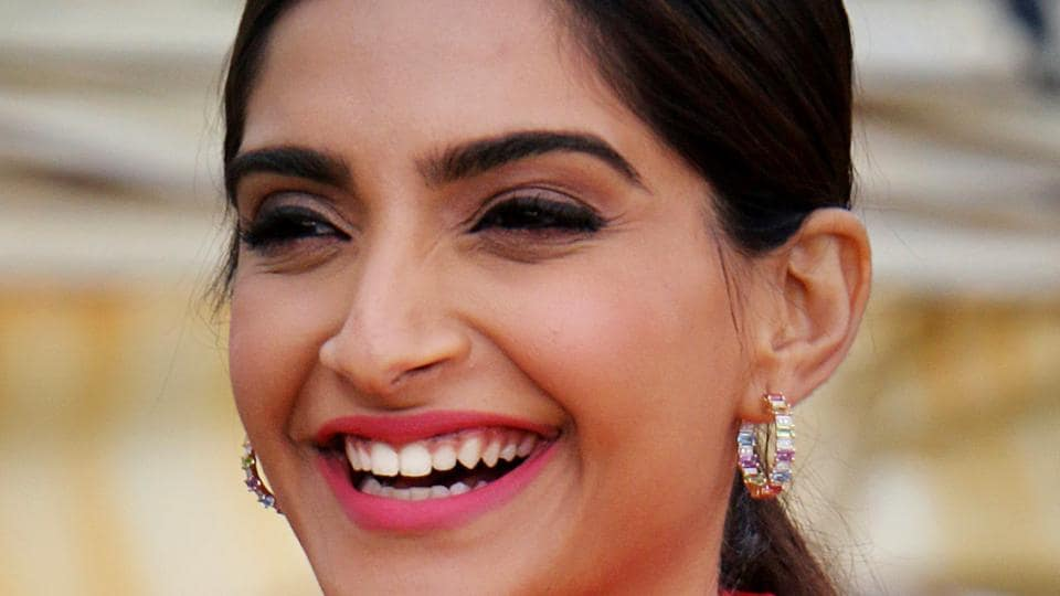 Sonam Kapoor Ahuja during the media interaction for The Zoya Factor in Mumbai on Tuesday.