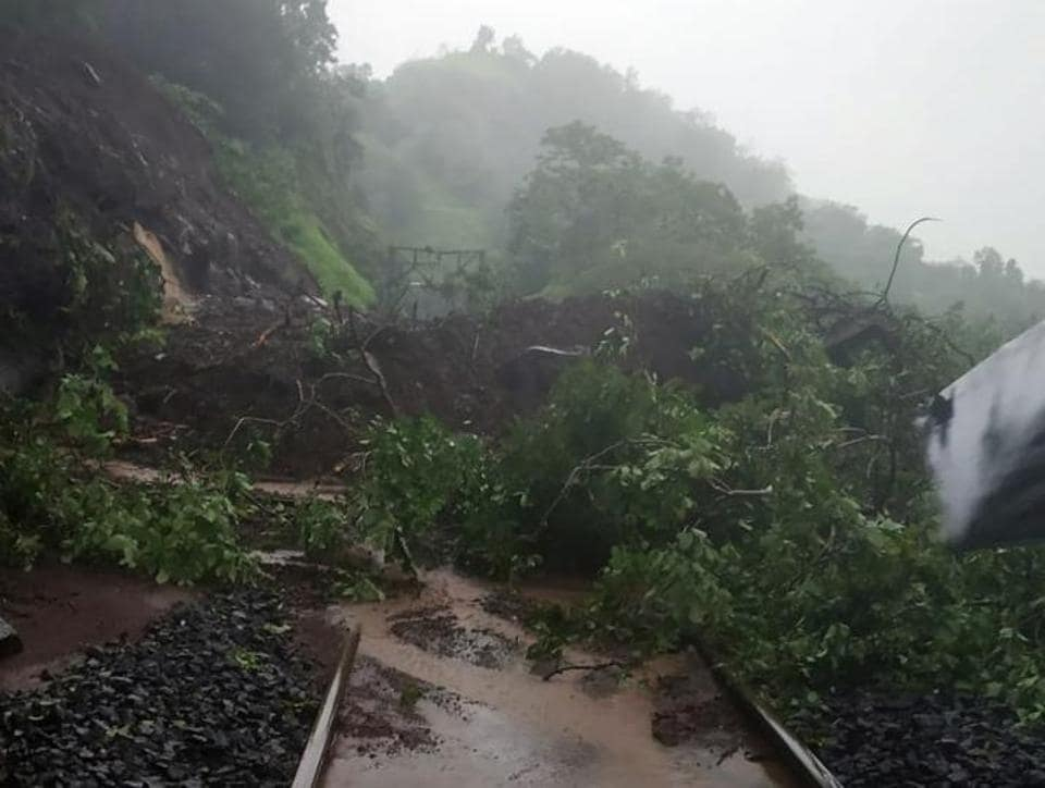 At least seven major incidents of landslides have been recorded in the ghat (hilly) section between Lonavla and Karjat this year since the first week of July
