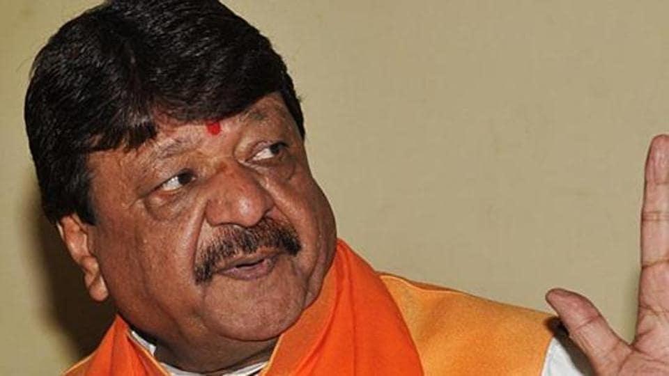 BJP national general secretary Kailash Vijayvargiya.