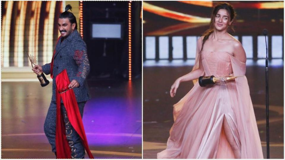 IIFA 2019: Ranveer Singh and Alia Bhatt bagged the awards for best actors.
