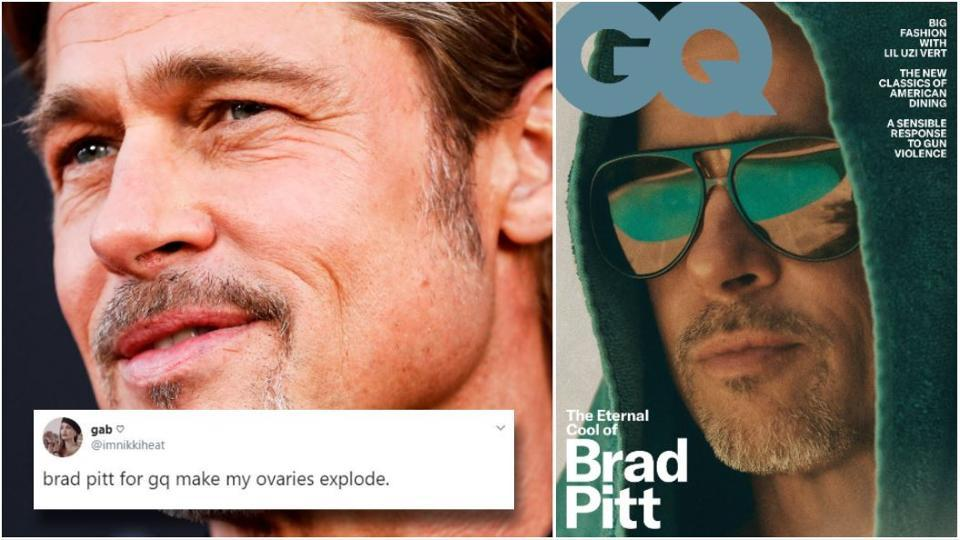 Brad Pitt Thinks Kanye West's Sunday Service Is 'Really Special'!