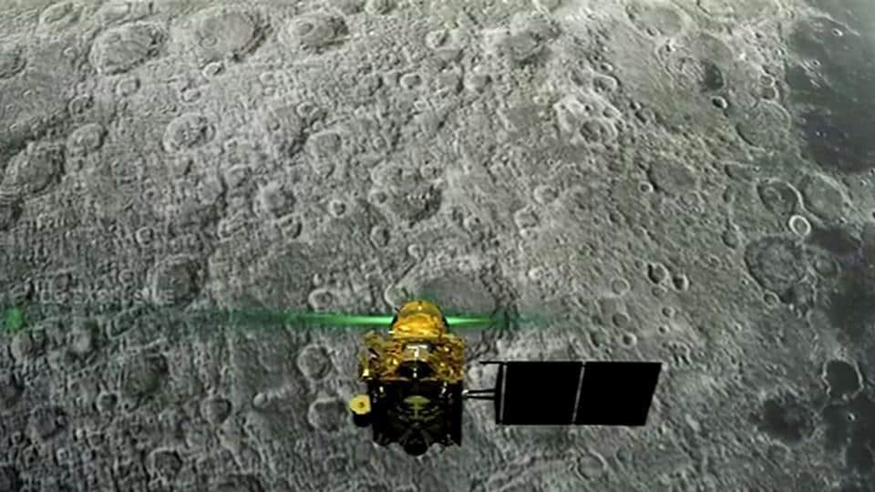 NASA's Lunar Reconnaissance Orbiter (LRO), which has been orbiting the moon for 10 years, passed over the Vikram landing site on Tuesday.