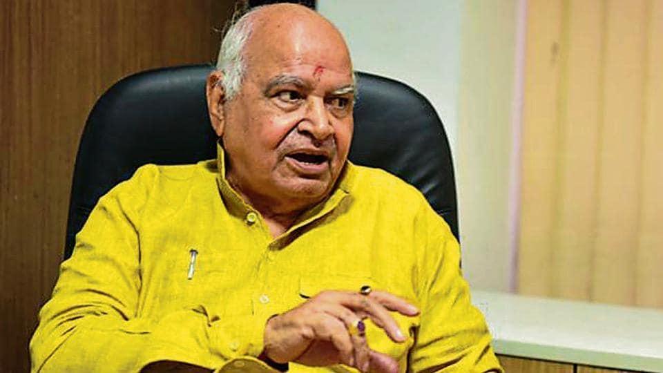 UP Assembly Speaker Hriday Narayan Dikshit speakes to media.
