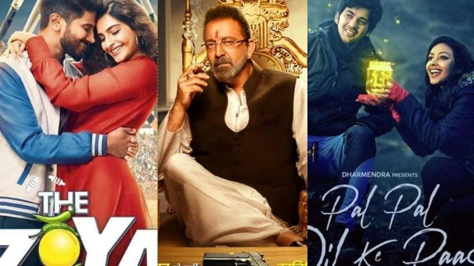 Its The Zoya Factor vs Prassthanam vs Pal Pal Dil Ke Paas this Friday.