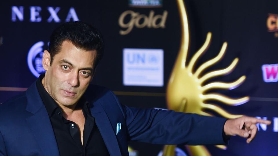 Salman Khan arrives for the 20th International Indian Film Academy (IIFA) Awards.