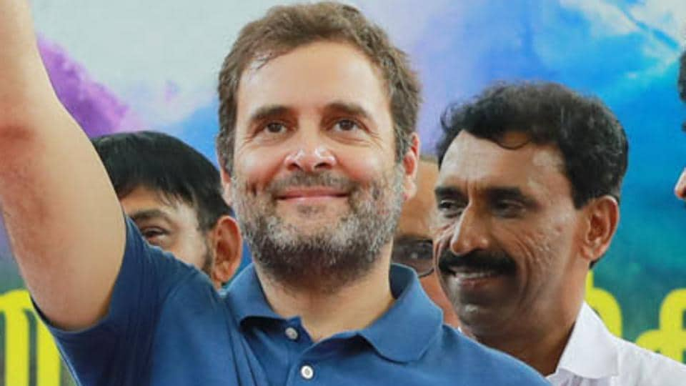Congress leader Rahul Gandhi criticised the Prime Minister over declining economic growth.