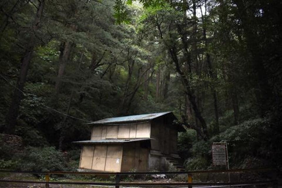 Chudail Baudi a haunted place on Nawbihar-Chota Shimla road.