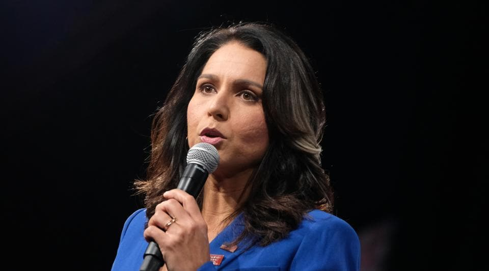 Gabbard, a member of the Democratic Party of the United States