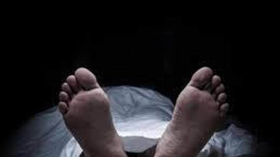 Anjaneyulu went missing in the evening and his footwear was found near the pyre of Lakshmi, who was cremated in the evening