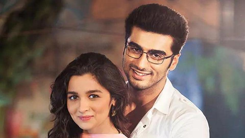 Arjun Kapoor and Alia Bhatt worked together in 2 States.