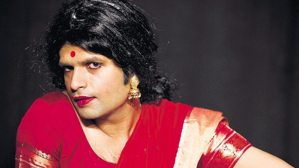 Trinetra Tiwari as Rangoli in the play 'Pehli Shaadi'