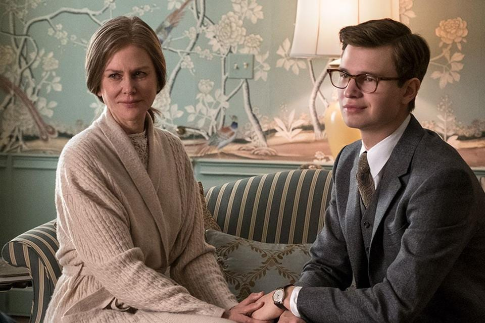 Nicole Kidman plays a sympathetic socialite; Ansel Elgort is effective as the troubled teen grown up. But the film is far too long, with too many characters flitting in and out, to little avail.