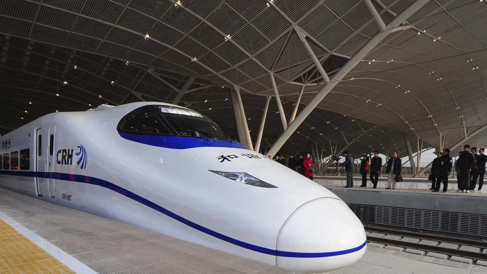 Bullet trains between Mumbai and Ahmedabad will mark India's shift to an era of high-speed trains capable of hitting speeds of up to 350 km per hour.