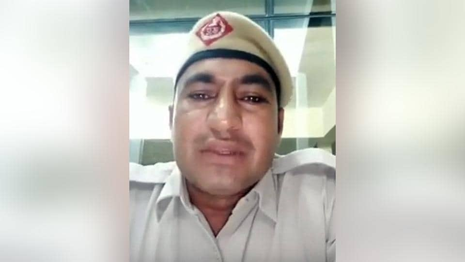 In the video, the cop also talks about the importance of maintaining road safety.