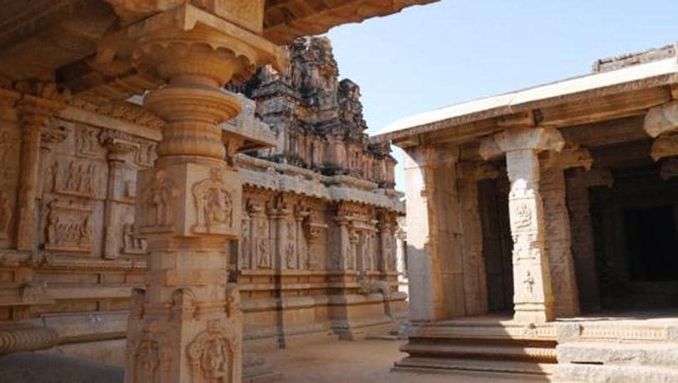 The 45-year-old man was arrested after he knocked down two ancient stone pillars at the Vijaya Vittala temple, a UNESCO World Heritage site, while taking a selfie.