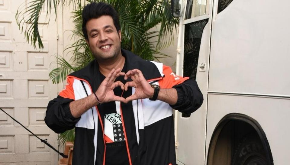 Varun Sharma during the promotions of his film Chhichhore at a Mumbai studio on Aug 23, 2019.