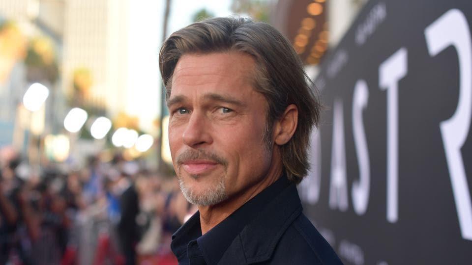 Brad Pitt attends the premiere of 20th Century Fox's Ad Astra at The Cinerama Dome.