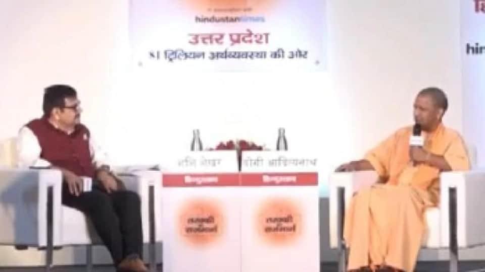 Chief Minister of Uttar Pradesh Yogi Adityanath.