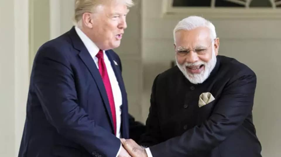 Trump and Modi will meet this Sunday in Houston at an Indian-American rally.