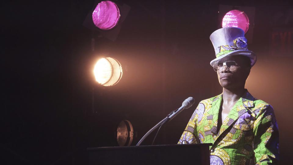 This image released by FX shows Billy Porter in a scene from Pose. The program is nominated for an Emmy Award for outstanding drama series.