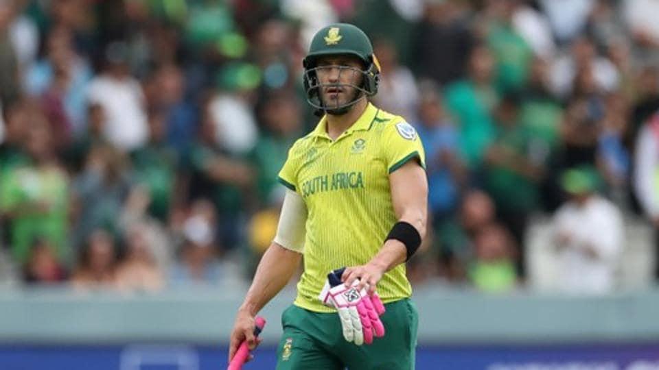South Africa Test captain Faf du Plessis