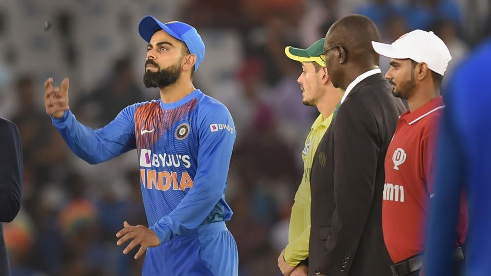 Indian team captain Virat Kohli won the toss and elected to bat first.