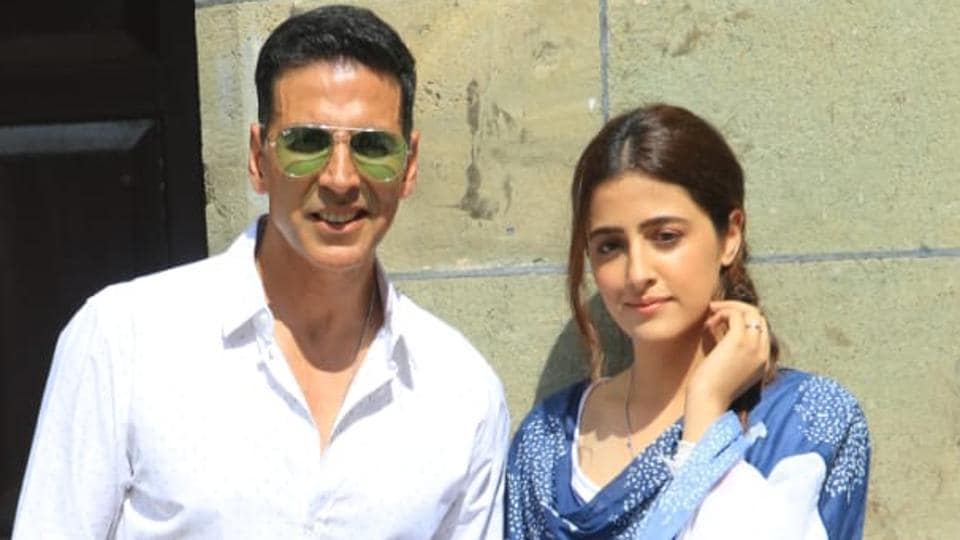 Akshay Kumar and Kriti Sanon will feature in a music video.