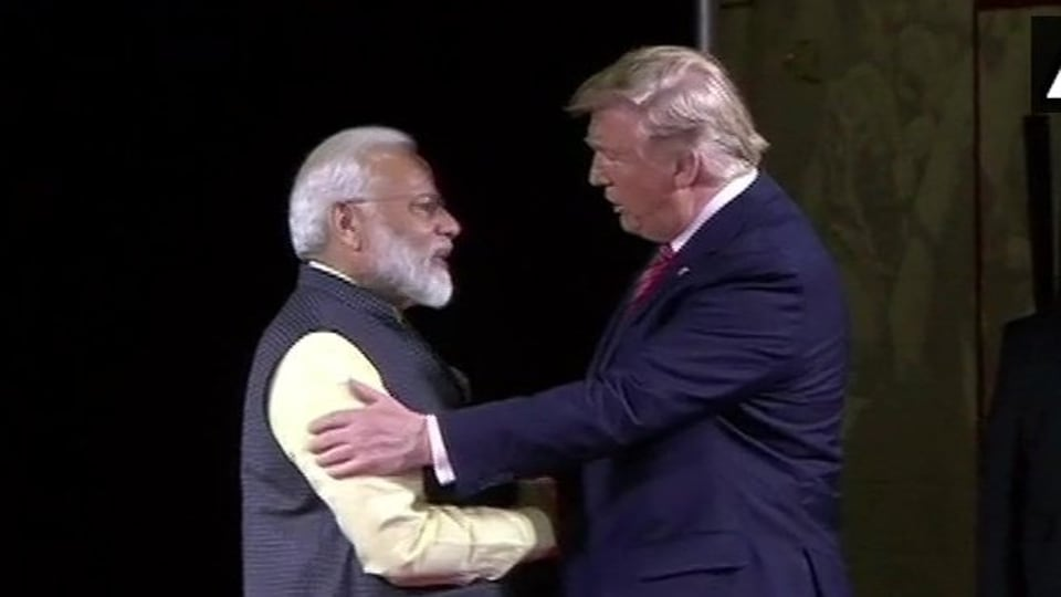 US President Donald Trump on Sunday greeted 'Happy Birthday' to Prime Minister Narendra Modi who turned 69 last week.
