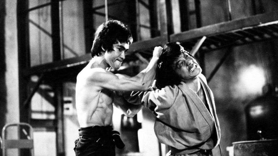 Jackie Chan worked as a stuntman with Bruce Lee on Enter the Dragon.