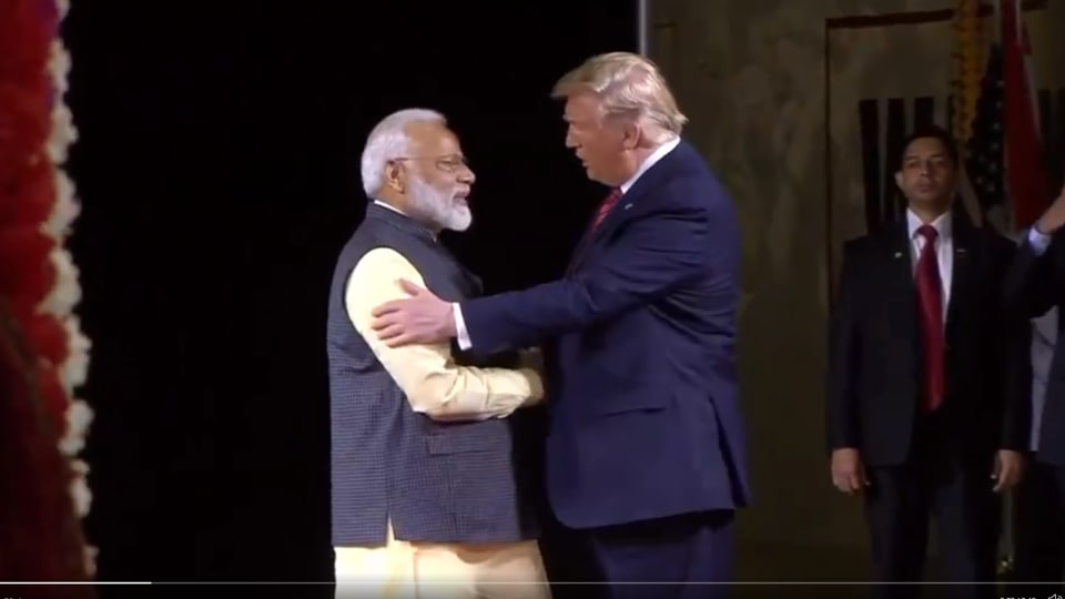 What PM Modi said about Donald Trump at Houston, Texas