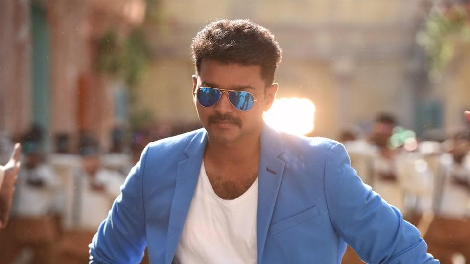 Tamil film star Vijay