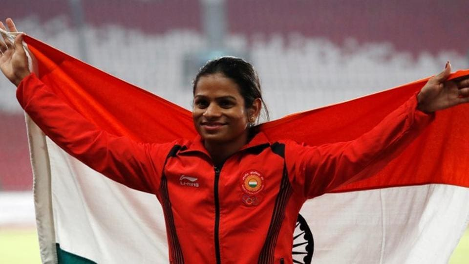 File photo of Dutee Chand.