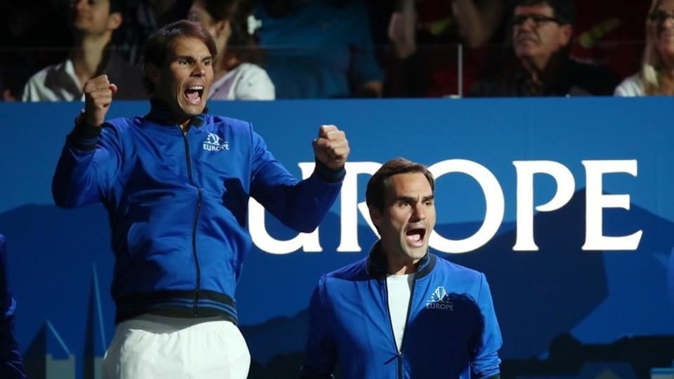 Roger Federer and Rafael Nadal play in Europe team.