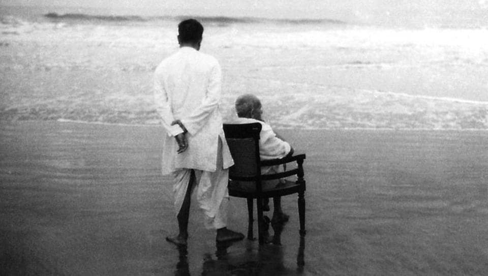 Mahatma Gandhi with his son Devdas at Juhu Beach in May 1944. To most historians, the Mahatma can come across as a man whose heart lay in rural India. Yet, MK Gandhi spent several years in Mumbai — or Bombay as the city was then called — first as a potential barrister, then as a lawyer with an established practice, and finally, over three decades, as the man who led India to freedom. (National Gandhi Museum)