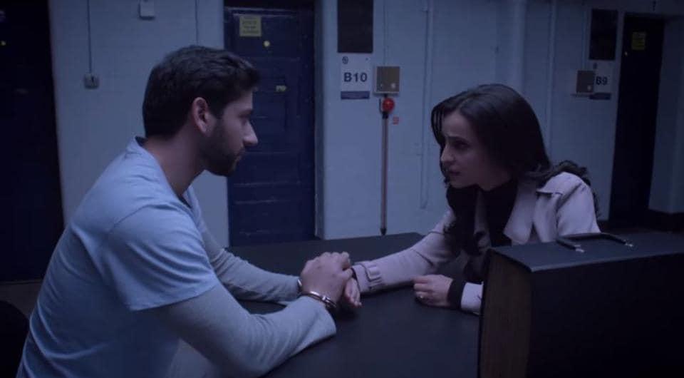 Ghost trailer features Shivam Bhaargava and Sanaya Irani.