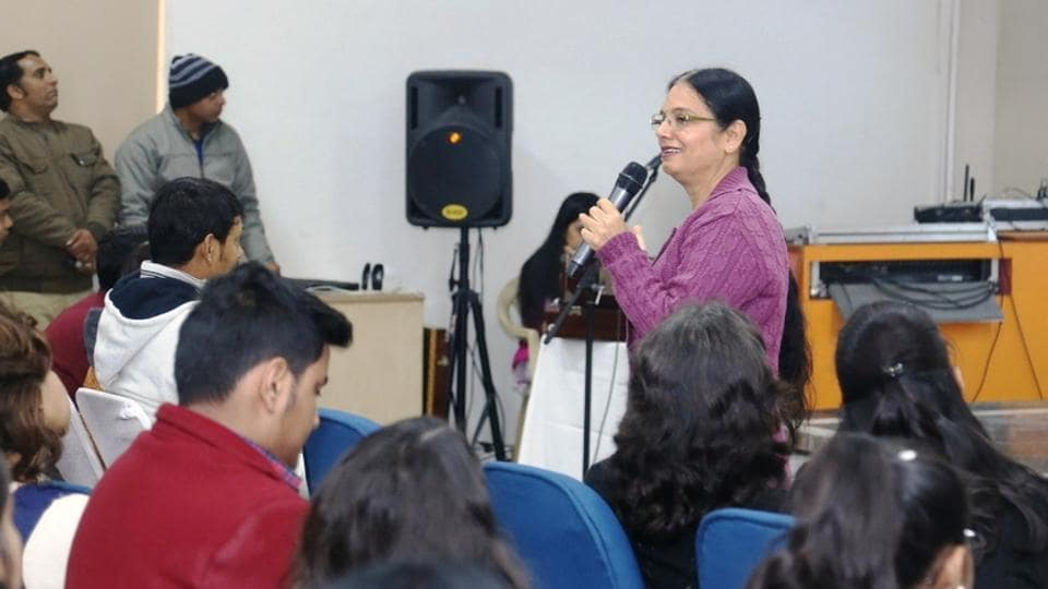 IPBhatia, principal of SCDAV Public School, conducted the session