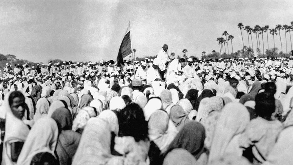 Days after breaking the Salt law on April 6, 1930, Gandhi toured the villages around Dandi and addressed gatherings, speaking about the importance of satyagraha, and the need for civil disobedience.