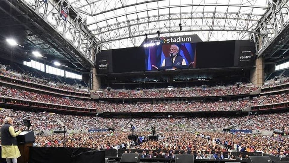 Amit Shah's remarks on the 'Howdy, Modi!' event came just after the Prime Minister and US President Donald Trump ended their address to the Indian community in Houston