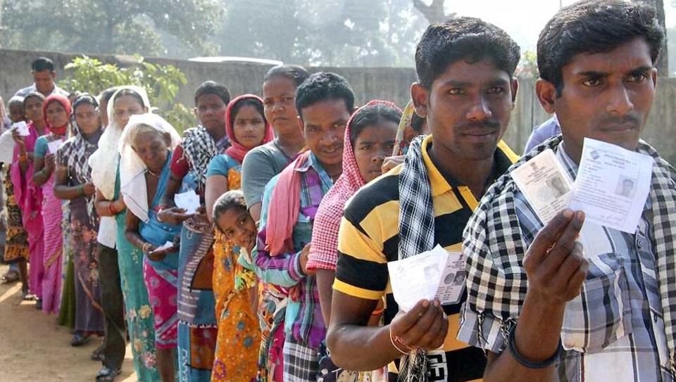 Voting for the bypoll to the Naxal-affected Dantewada Assembly constituency began on Monday morning amid tight security.