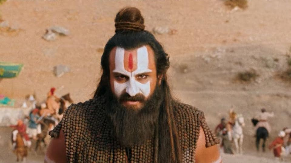 Laal Kaptaan trailer: Saif Ali Khan plays a Naga Sadhu in the film.