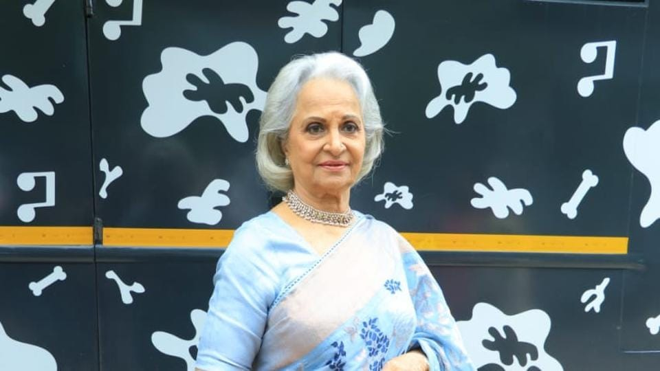Waheeda Rehman has an adventure sport on her bucket list.