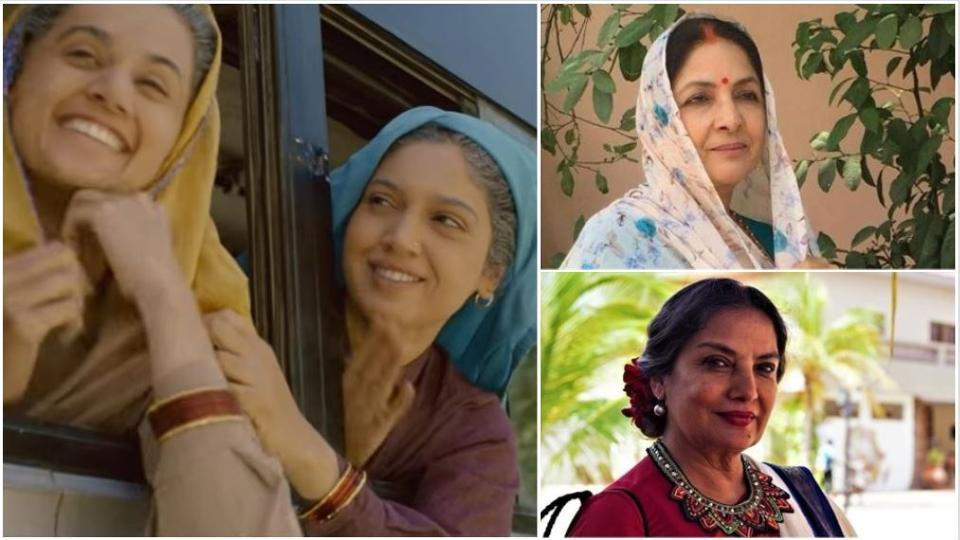 A fan proposed that instead of Taapsee Pannu and Bhumi Pednekar, Shabana Azmi and Neena Gupta should have been cast in the film.