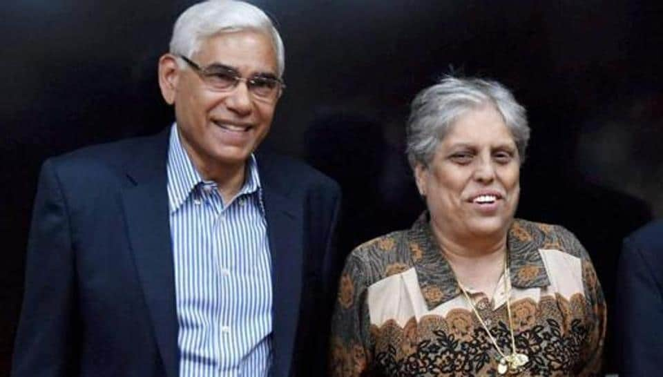 Mumbai: Members of the Supreme Court appointed three-member panel of Board of Control for Cricket in India (BCCI) former CAG India Vinod Rai (L), IDFC Managing Director and CEO Vikram Limaye and sportsperson Diana Edulji (C) after a meeting in Mumbai on Tuesday. PTI Photo by Santosh Hirlekar (PTI1_31_2017_000189B)