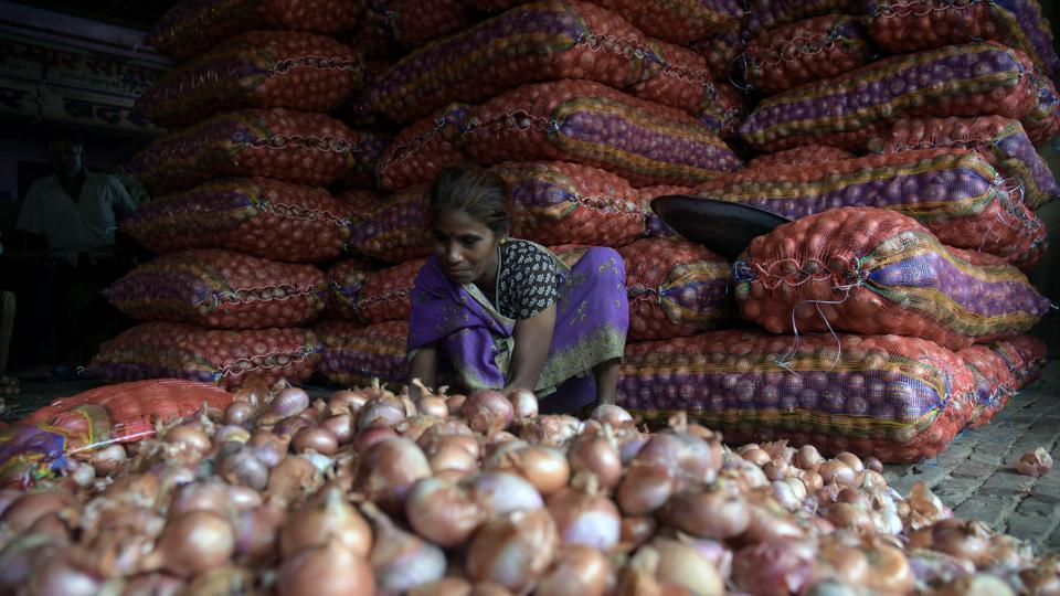 Onion prices have been touching a four year high nationwide.