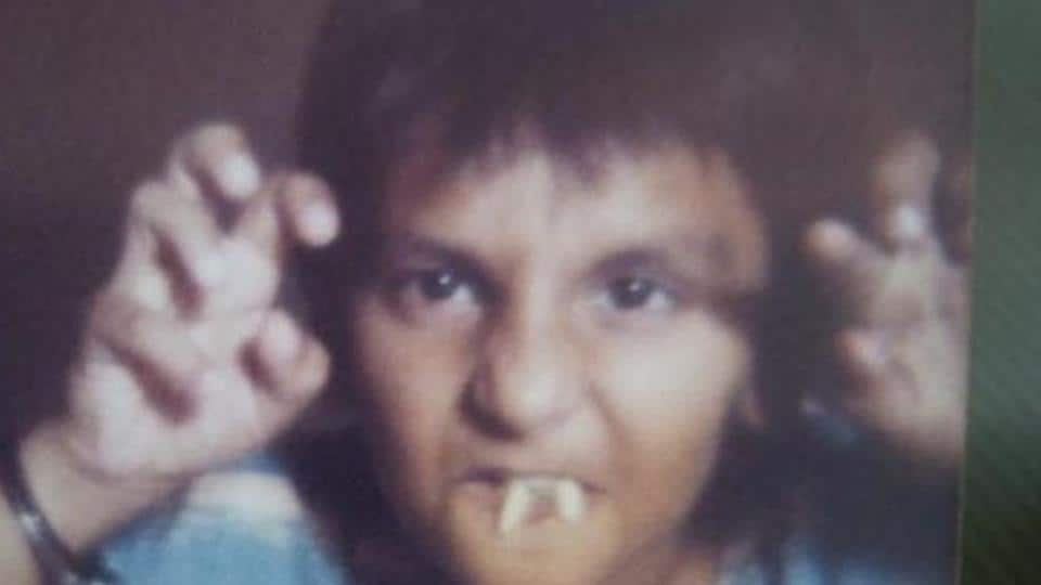 Ranveer Singh has shared an old picture from childhood.