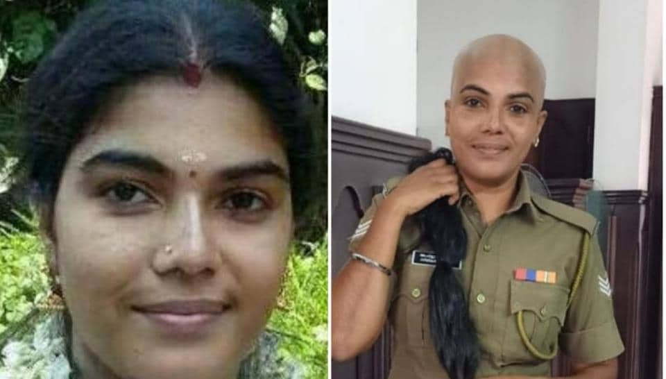 Kerala Civil Police officer AparnaLavakumar is considered a role model for her humanitarian acts by her colleagues
